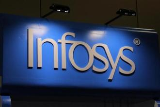 Infosys, earlier this month, reported a rise in profit and forecast healthy revenue growth for the year, but its outlook on profit margins failed to cheer investors. Photo: Reuters
