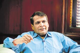 Commerce and industry minister Suresh Prabhu said there has been an exponential growth of e-commerce sector. File photo: Mint