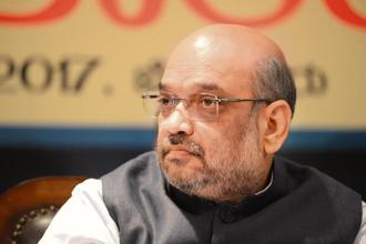 BJP president Amit Shah. BJP's numbers in the Lok Sabha have come down to 274 from the 282 it had after the 2014 general elections. Photo: Hemant Mishra/Mint