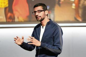 Google chief executive officer Sundar Pichai. Photo: Reuters