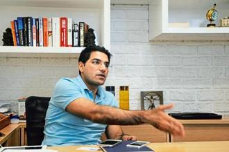 Quikr chief executive Pranay Chulet. Photo: AFP