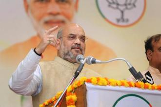 BJP president Amit Shah. The Dalit vote is critical for the BJP if it seeks to repeat its 2014 performance. This is especially true for states such as Madhya Pradesh, Rajasthan, and Uttar Pradesh where it had witnessed a significant swing in Dalit votes in its favour. Photo: PTI