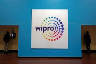Wipro's dollar revenue improved 2.4% sequentially to $2.06 billion in the three months to March. Photo: Reuters