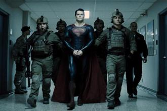 A still from 'Man Of Steel'. Even Superman, the ultimate good guy, is held accountable for his actions.