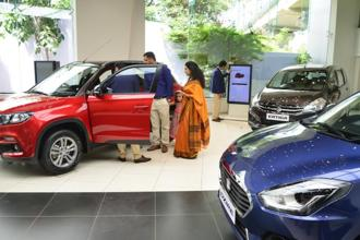 Maruti Suzuki tax expenses jumped about 31% to Rs752 crore in the quarter. Photo: Ramesh Pathania/Mint