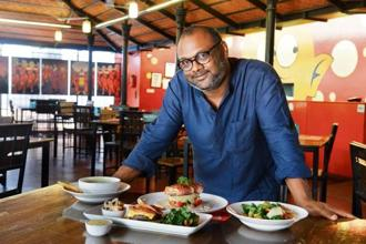 Gautam Krishnankutty, partner at Café Thulp, Bengaluru. Photo: Hemant Mishra/Mint