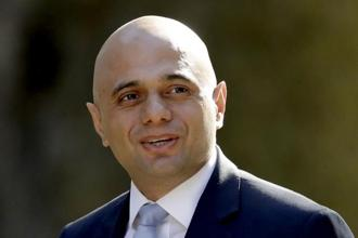 Sajid Javid has to manage a deeply disliked and discriminatory immigration system. Photo: AP