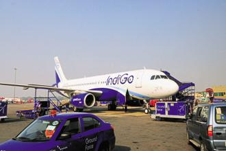 InterGlobe Aviation shares extended losses and dropped as much as 3.7% on Wednesday in Mumbai, touching their lowest intraday level in a month. Photo: Mint
