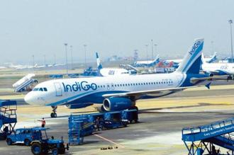 The IndiGo stock was trading lower by at least 6% before the announcement of Aditya Ghosh's resignation on 27 April. Photo: Ramesh Pathania/Mint