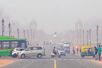 The WHO report shows that 9 out of 10 people breathe air containing high levels of pollutants. File photo: HT