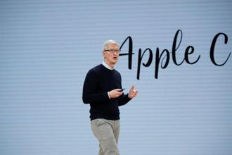 Tim Cook hinted at additional sources of growth in terms of both geographical areas and product categories. He said India is an attractive new market for iPhones, similar to China several years ago. Photo: Reuters
