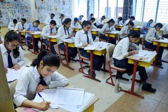 The HPBOSE Class 10 board exams were held between 7 and 20 March with 109,780 students appearing in the exams. Photo: PTI