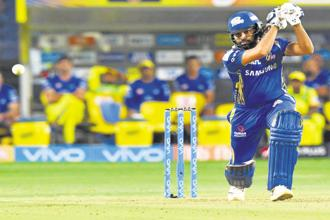 Mumbai Indians' Rohit Sharma. Photo: AFP