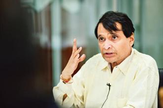 India's trade minister Suresh Prabhu has hailed the move by China. Photo: Priyanka Parashar/Mint