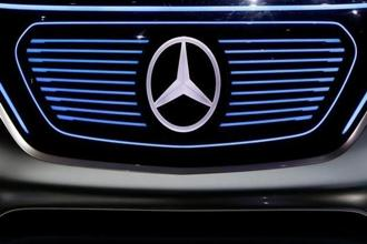 Mercedes-Benz can drive in a fully electric vehicle to India as early as next year depending on a favourable taxation structure for such vehicles in the country. Photo: Reuters