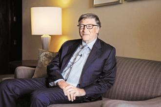 Bill Gates now heads the Bill and Melinda Gates Foundation, which is engaged in major philanthropic work globally. File Photo: Vipin Kumar/Hindustan Times