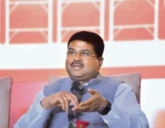 Petroleum minister Dharmendra Pradhan. Photo: Ramesh Pathania/Mint