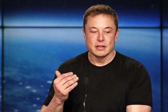 A file photo of SpaceX founder Elon Musk. Photo: AP