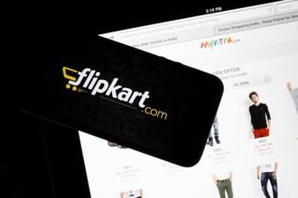 Together, the Flipkart group controls more than 70% of online fashion sales in the country. Photo: Bloomberg