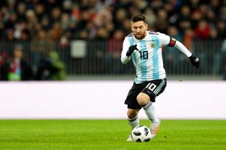 Argentina captain Lionel Messi will be eager to add a World Cup to his trophy cabinet. Photo: AP