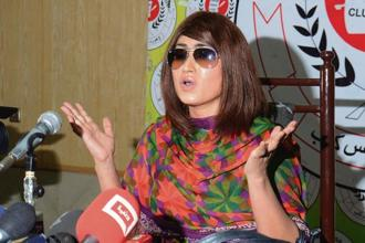 A file photo of Qandeel Baloch. Photo: Getty Images