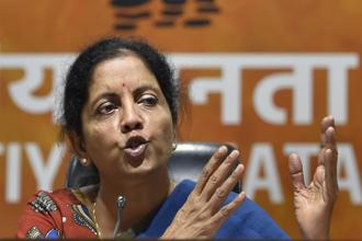 Defence minister Nirmala Sitharaman said that Nawaz Sharif's remarks have validated India's claims. Photo: PTI