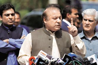Pakistan's former prime minister Nawaz Sharif. File photo: AP