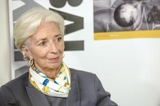 IMF's Christine Lagarde recommended several steps to improving the global trading system, including expanding trade in services, increasing productivity and protecting people hurt by trade and technology. Photo: Bloomberg