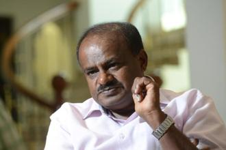 His political strategies aside, H.D. Kumaraswamy is known for his managerial ability—a trait he carries from his earlier career in the film industry.