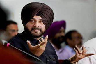 Punjab tourism minister Navjot Singh Sidhu was acquitted of murder charges by a trial court in September 1999. Photo: PTI