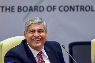 Shashank Manohar said the International Cricket Council (ICC) plans to launch a global strategy for the sport. File photo: PTI
