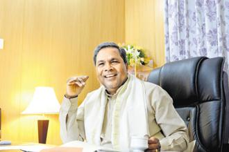 Siddaramaiah had become a household name with populist programmes, around food security and according a minority religion status to the Lingayat community. Photo: Mint