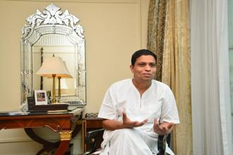 Patanjali Ayurved MD Acharya Balkrishna. Patanjali's stagnant sales come at a time its competition in Hindustan Unilever, ITC Ltd and Nestle India have reported stellar growth. Photo: Ramesh Pathania/Mint