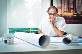 Hafeez Contractor is a leading Indian architect and winner of the Padma Bhushan, the country's third-highest civilian award.. Photo: Aniruddha Chowdhury/Mint