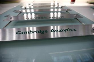 Cambridge Analytica and its British parent SCL Elections Ltd said earlier in May that they would shut down immediately and begin bankruptcy proceedings after suffering a sharp drop in business. Photo: