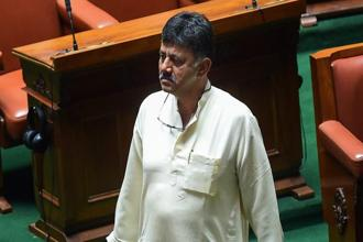 A file photo of Congress leader D.K.Shivakumar. Photo: PTI