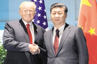 A file photo of US President Donald Trump with his Chinese counterpart Xi Jinping. China has agreed to 'meaningful increases in US agriculture and energy exports', a joint statement released by the White House said. Photo: Reuters
