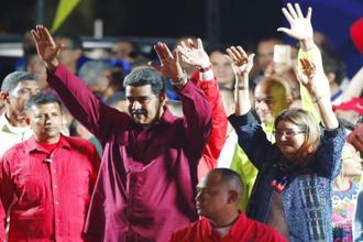 Nicolas Maduro, a former bus driver and foreign minister, has given little indication of his plans to remedy inflation that may hit 13,000% this year. Photo: AP