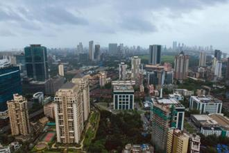 Housing and commercial real estate construction projects in Mumbai. Photo: Aniruddha Chowdhury/Mint