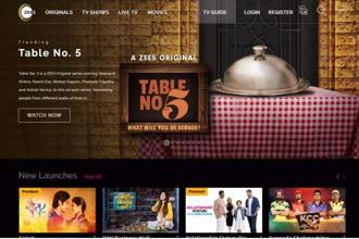 ZEE5 is a digital arm of Zee Entertainment Enterprises Ltd.