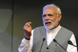 With 2019 Lok Sabha elections on the horizon, the twin fiscal clouds of farm support prices and crude oil prices have emerged for the Narendra Modi government. Photo: AFP