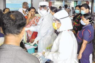 Nipah virus infection in humans has a range of clinical presentations, from asymptomatic infection to acute respiratory syndrome and fatal encephalitis. Photo: PTI