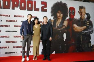 Apart from the IPL frenzy that has reached its peak with the finale drawing close, Deadpool 2 also managed to combat the Ramadan season where people avoid going out. Photo: Reuters
