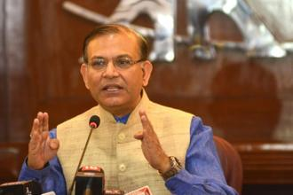 Jayant Sinha, minister of state for civil aviation, says the idea is to offer a safe, seamless, convenient and delightful experience to consumers. Photo: Ramesh Pathania/ Mint