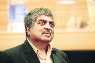Infosys's stand on activist shareholders in its annual report for 2017-18 underlines a more pragmatic approach under Nandan Nilekani as the IT company looks to avoid any confrontation with any group of shareholders. Photo: Hemant Mishra/Mint