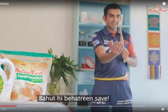 A video grab of NatureFresh campaign.