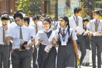 The overall pass percentage for Tamil Nadu Class 10 or SSLC result 2018 stands at 94.5%, which marginally increased by 0.1% compared to last year. Photo: HT