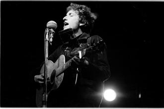 Bob Dylan turns 77 today. Photo: Douglas R. Gilbert/Redferns
