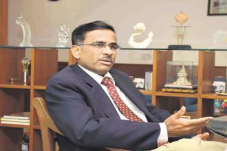 National Stock Exchange CEO Vikram Limaye is hoping that the NSE IPO will happen in 2018-19. Photo: Ravindra Zende/Mint
