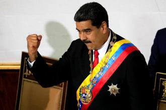 Venezuelan President Nicolas Maduro. An explosion is coming and we should expect a great deal of violence and  refugee flows. Photo: Reuters